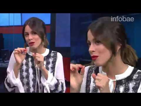 Tini Stoessel en Entrevista en Infobae el 19/06/2017