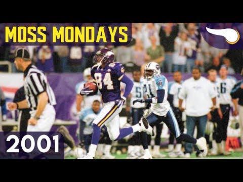 Moss Mondays #4 - Titans Vs. Vikings (Week 13, 2001) Classic Highlights