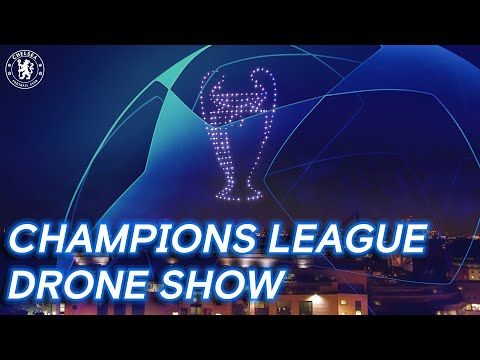 Chelsea Champions League Final Drone Show | Champions Of Europe