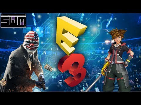 News Wave WIR! - Kingdom Hearts III, E3 Floor Plans, PayDay 2 Switch And Your Comments!