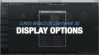 Curso básico de Lightwave 3D - 3. Display Options