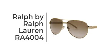 Ralph by Ralph Lauren RA4004 Sunglasses Short Review