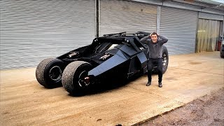 HERE'S OUR EPIC REAL LIFE CUSTOM BATMOBILE!!