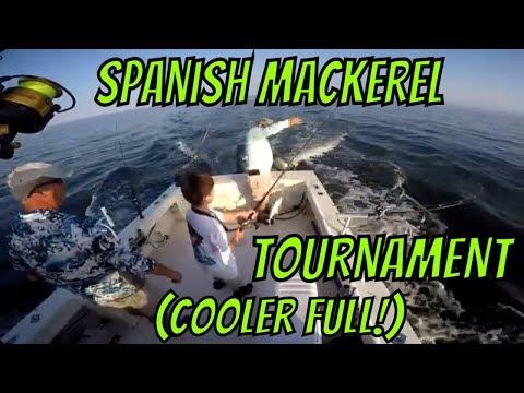 Spanish Mac Tournament Fishing