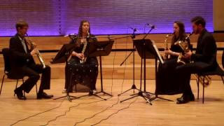 Lucy Armstrong: Same Same But Different - Movement 2. Performed by the Borealis Saxophone Quartet