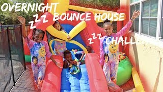 Baixar Overnight In Bounce House Challenge ft. Pierre Sisters