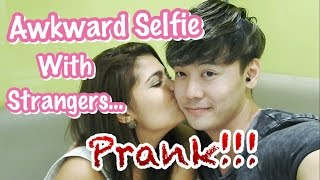 Awkward Selfie Prank With Strangers - GONE SEXUAL