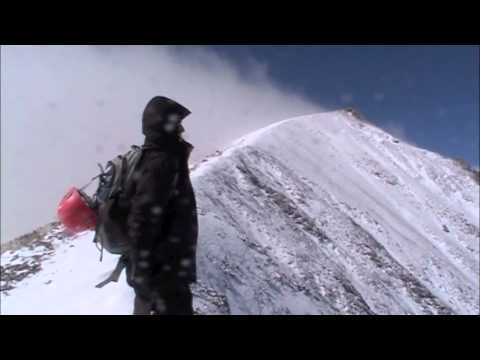 Erciyes zirve tırmanışı sırt rotası