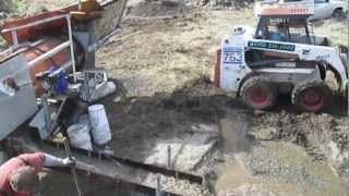 Gold Mining-Oregon Trommel Operation 2013