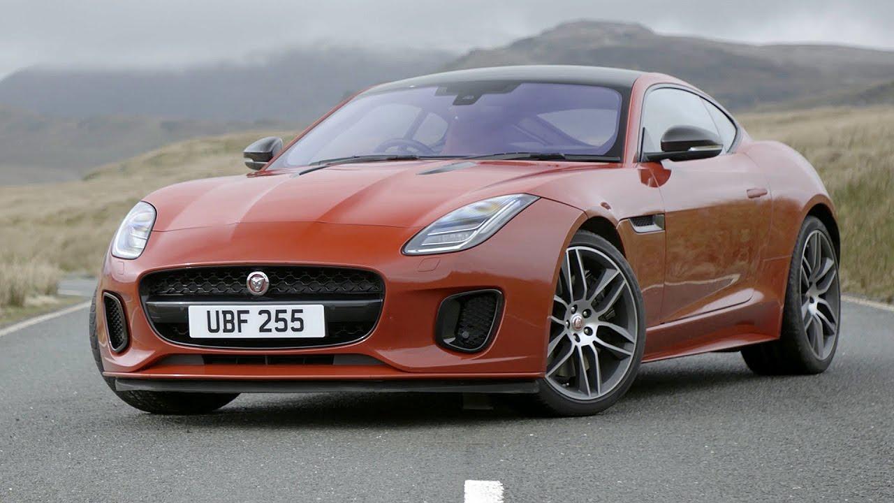 2018 jaguar f type 4 cylinder driving action interior exterior youtube. Black Bedroom Furniture Sets. Home Design Ideas