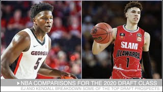 NBA Comparisons for the 2020 Draft Class (LaMelo Ball, Anthony Edwards, James Wiseman & More)