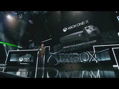 Xbox One X Hardware Specs Trailer E3 2017