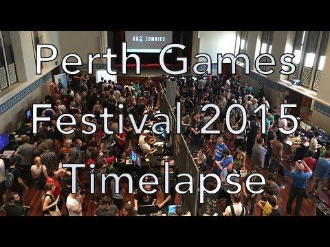 Perth Games Festival 2015 | Timelapse