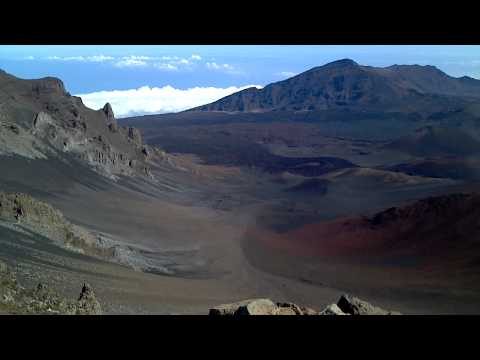 Amazing Footage Inside Volcano! Haleakala National Park