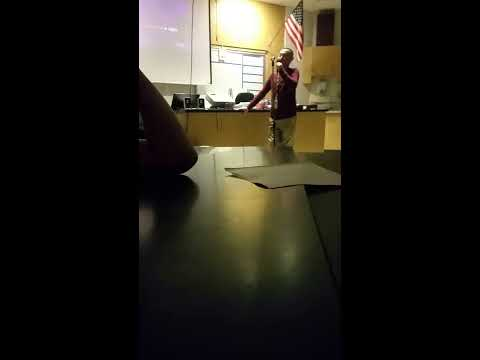 Aladdin Theme Song Karaoke in Biology Class