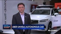 Uber tech executive explains their new autonomous vehicle