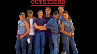 "THE OUTSIDERS OST RARE  Carmine Coppola ""Fate Theme Dallas Tragic Music"""