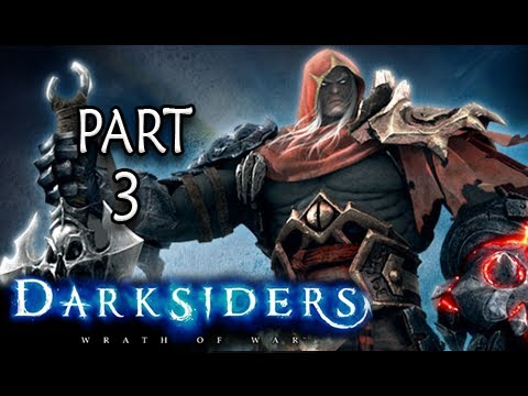 Darksiders Walkthrough - Part 3 The Crossroads Let's Play XBOX PS3 PC