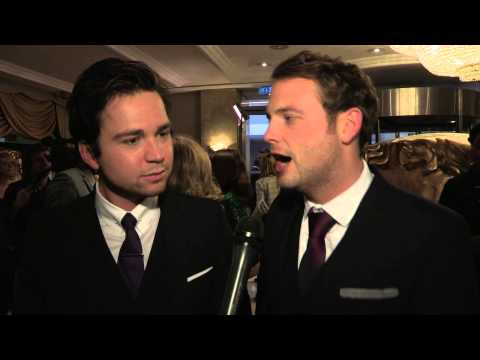 Sam Nixon & Mark Rhodes - Interview - BAFTA Children Awards 2013 Arrivals