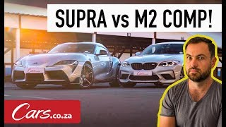 Hot Lap Shootout - New Toyota Supra vs BMW M2 Competition