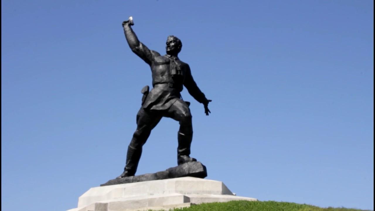Поездка к памятнику Комбат и по Славяносербску - YouTube
