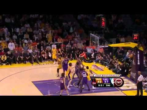 2010 NBA Playoffs Game 5 Conference Finals Phoenix Suns vs Los Angeles Lakers Part 7