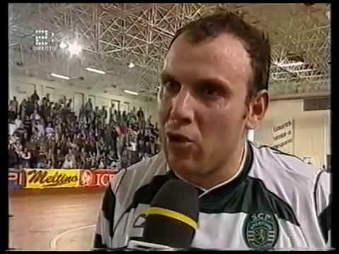 Futsal :: 23J :: Sporting - 5 x FJ Antunes - 4 de 2003/2004 (Jogo do título)