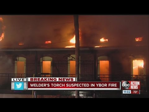 Fire damages Amphitheatre club in Ybor City