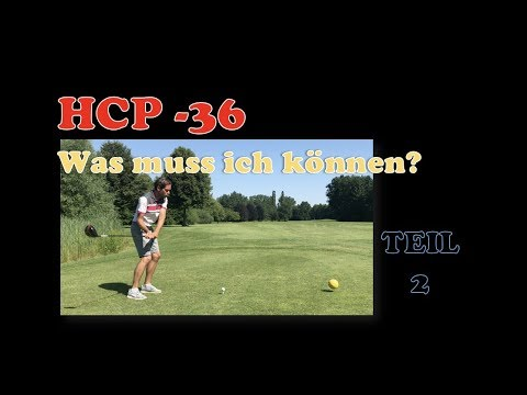 golf hcp 36 was muss ich k nnen teil 2 youtube. Black Bedroom Furniture Sets. Home Design Ideas