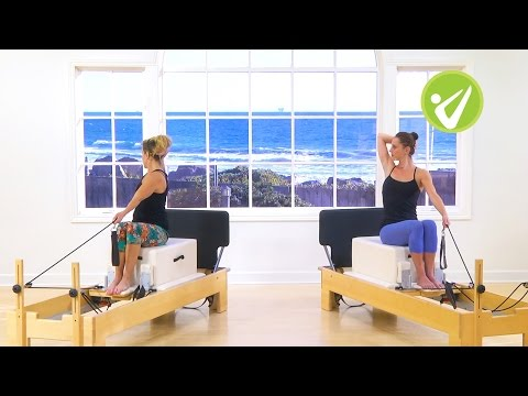 Pilates Jump Board Reformer Class - Kristi Cooper and Meredith Rogers