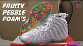 9f9278500e7 Nike Foamposite Pro Fruity Pebble unboxing by Shiekh - YouTube