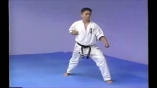 極真空手の型「太極Ⅰ」です。 KyokushinKata Taikyoku1.
