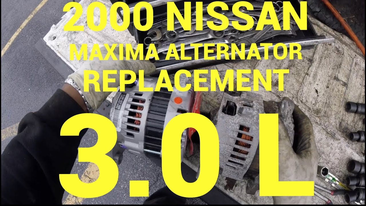 How To Replace A 2000 Nissan Maxima Alternator