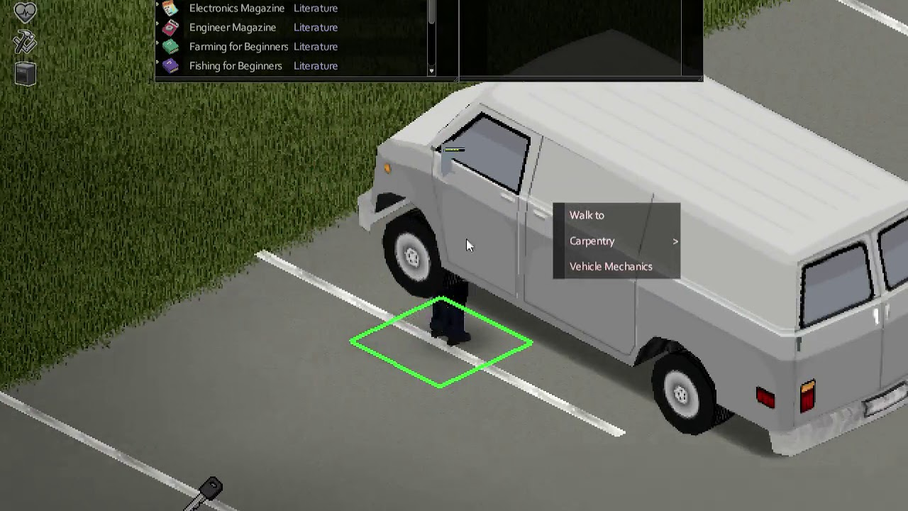Let S Play Project Zomboid Build 39 Ep1 Cars And Contruction Sites