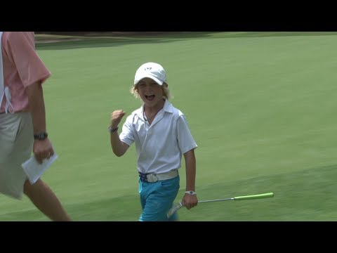 Will Lodge (9 yr old - Highlights) - 2013 US Kids Golf World Championship