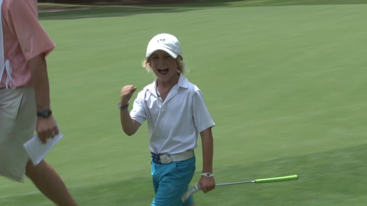 Will Lodge 9 Yr Old Highlights 2013 Us Kids Golf World Championship Youtube