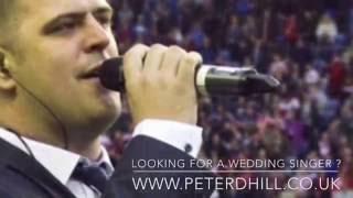 Peter Hill Wedding Singer & DJ www.peterdhill.co.uk & The Horwich RMI band Live 8th October 16