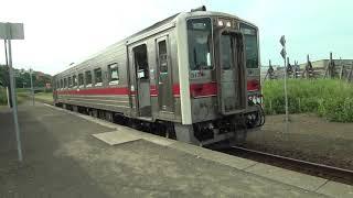 【列車入線】釧網本線藻琴駅2019/07/04