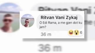 Ora News - Masakra në Vlorë, autori në arrati shkruante në facebook, sfidonte policinë