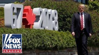 Trump attends G7 summit amid backlash over tariffs