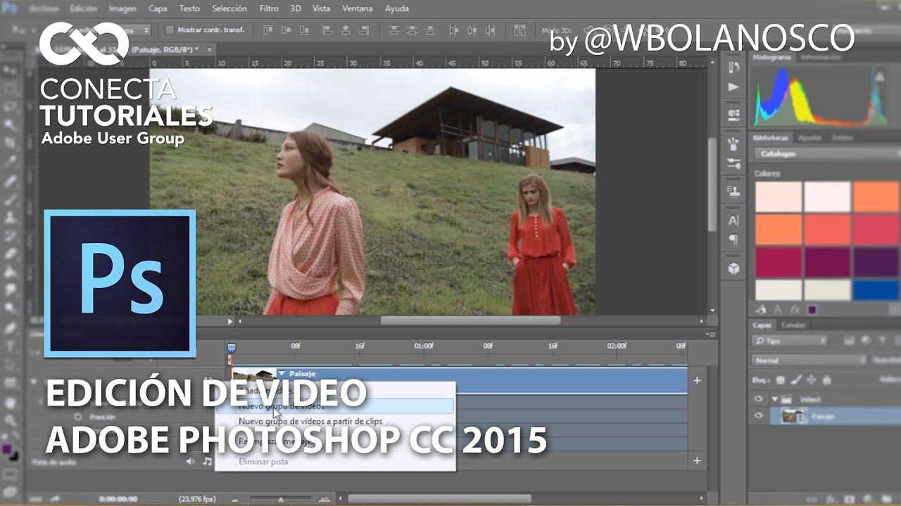 Tutorial Photoshop Edición De Video By Wbolanosco Youtube