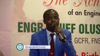 Aboki 4     Christ @ Former President Olusegun Obasanjo