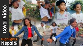 Nira Jaile Risaune - Dance Cover Song By JHAPALI EXTREME CREW   New Nepali Movie PURANO DUNGA