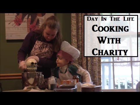 DITL Cooking With Charity (Oldest of 7) | Day In The Life | Parsnips and Parsimony