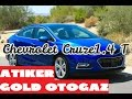 Bilecik/ Chevrolet Cruze /Atiker Gold Otogaz Performans testi