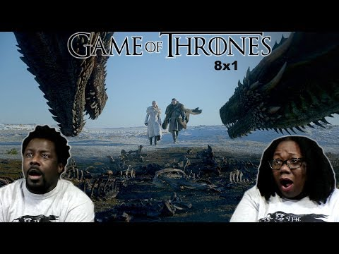 Game of Thrones 8x1 REACTION & DISCUSSION!! {WINTERFELL}