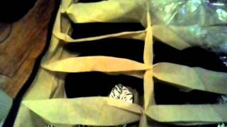 Fabric Under Bed Shoe Organizer