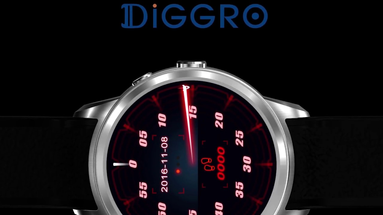 Jual Diggro DI01 Smart Watch Android 5 1 Heart Rate Monitor
