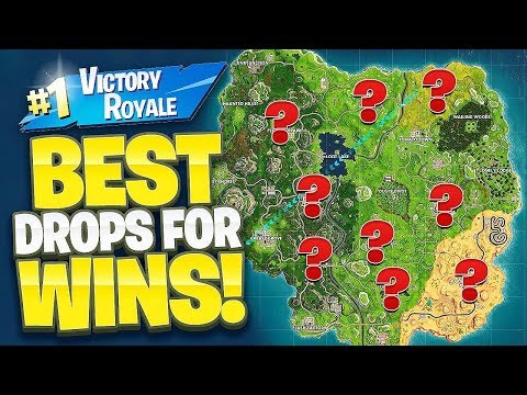 BEST LANDING TO WIN GAMES! HOW TO WIN ON FORTNITE BATTLE ROYALE