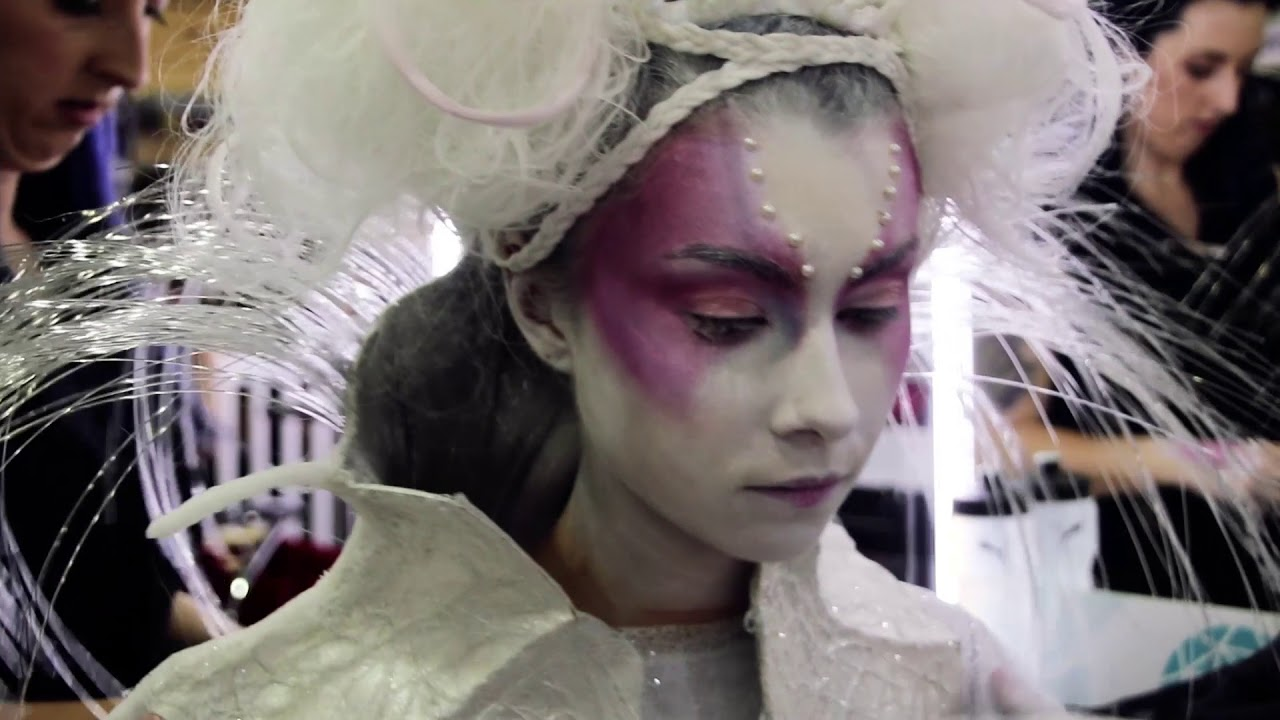 avant garde makeup hair competition